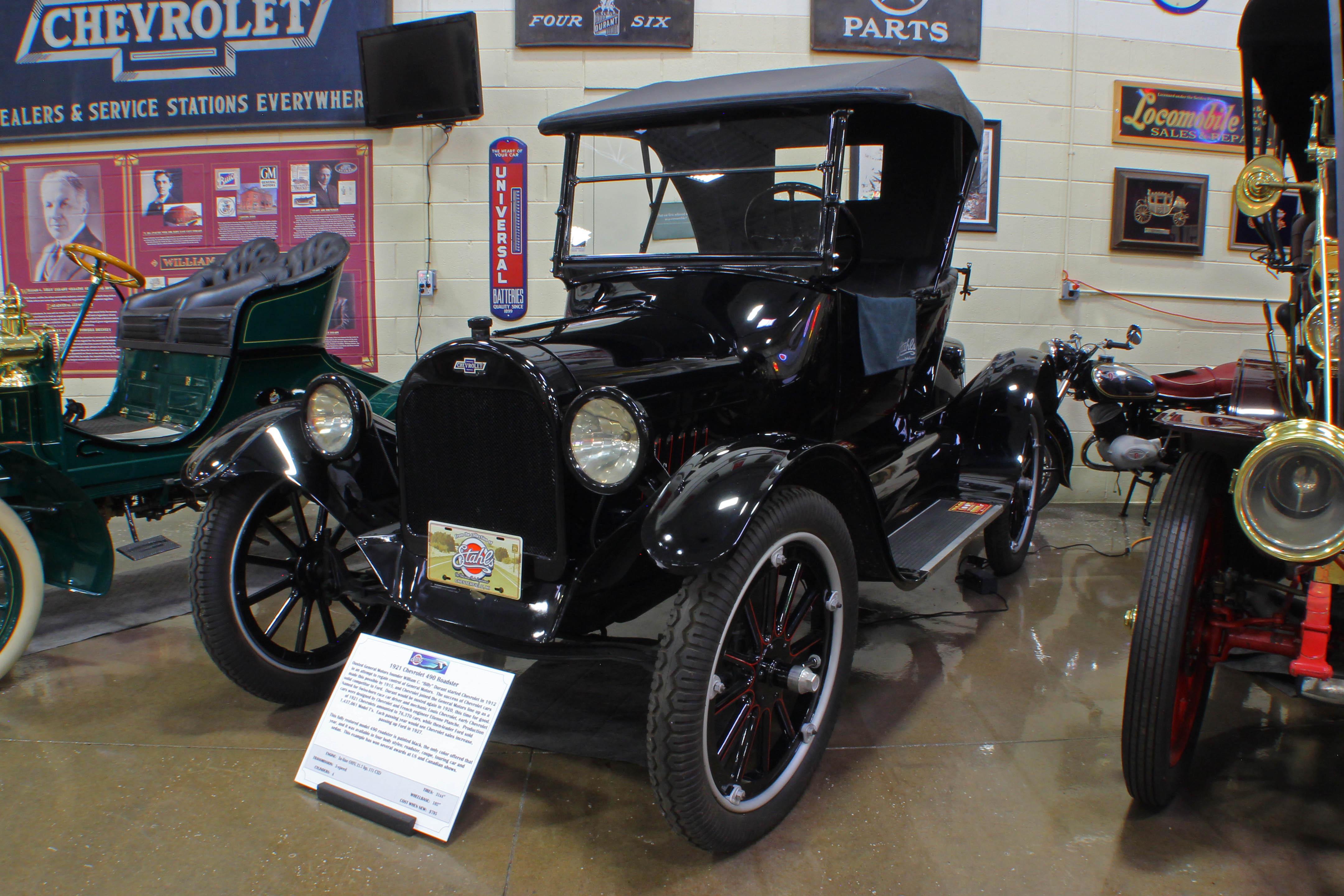 1921 Chevrolet 490 - Stahls Automotive Collection